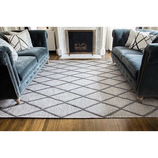 Charcoal (LGD-3) Contemporary / Modern Area-Rugs