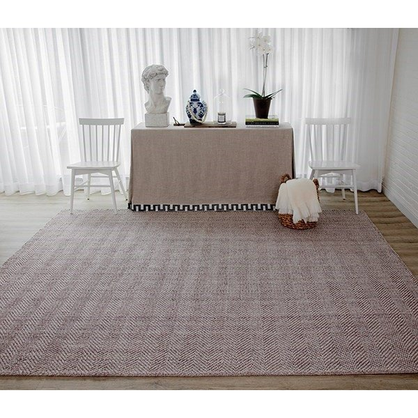 Brown (LED-1) Contemporary / Modern Area Rug