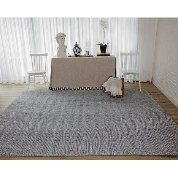 Grey (LED-1) Contemporary / Modern Area-Rugs