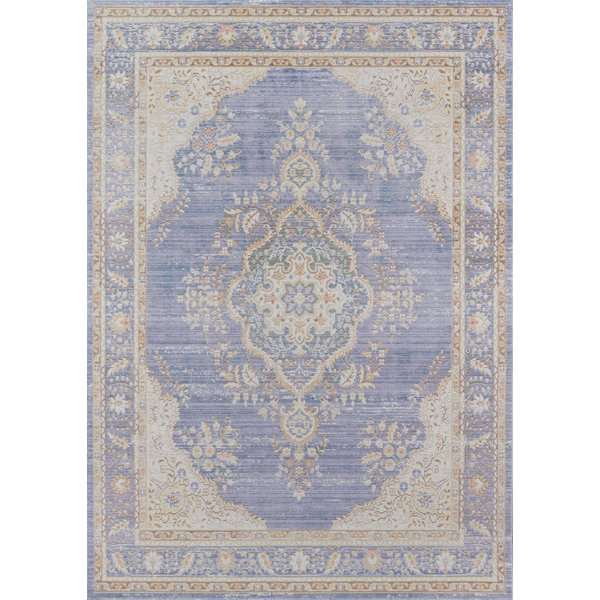 Periwinkle Traditional / Oriental Area-Rugs
