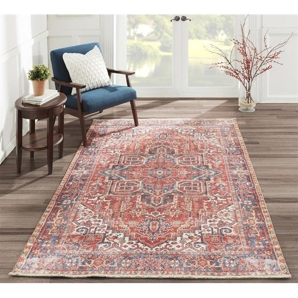 Red Vintage / Overdyed Area-Rugs