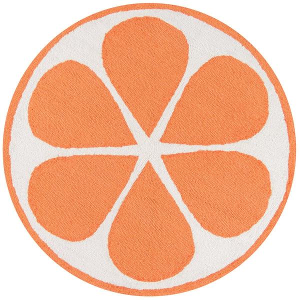 Orange (CNA-1) Novelty / Seasonal Area-Rugs