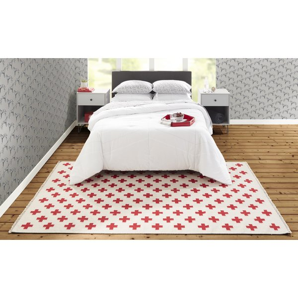 Ivory (TOP-1) Contemporary / Modern Area-Rugs