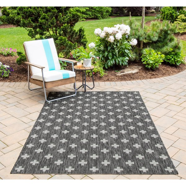 Charcoal (VI-01) Contemporary / Modern Area-Rugs