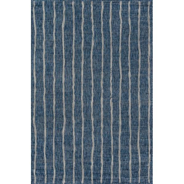 Blue (VI-03) Contemporary / Modern Area Rug
