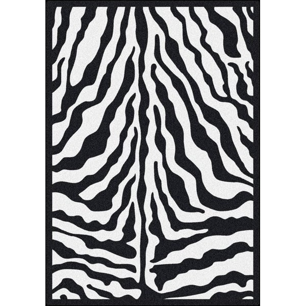 Black Ink (8) Contemporary / Modern Area Rug