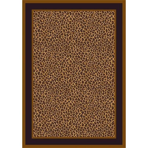 Leopard (4500)  Contemporary / Modern Area Rug