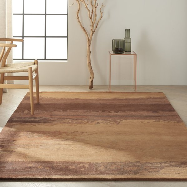 Copper (SW-09) Abstract Area Rug