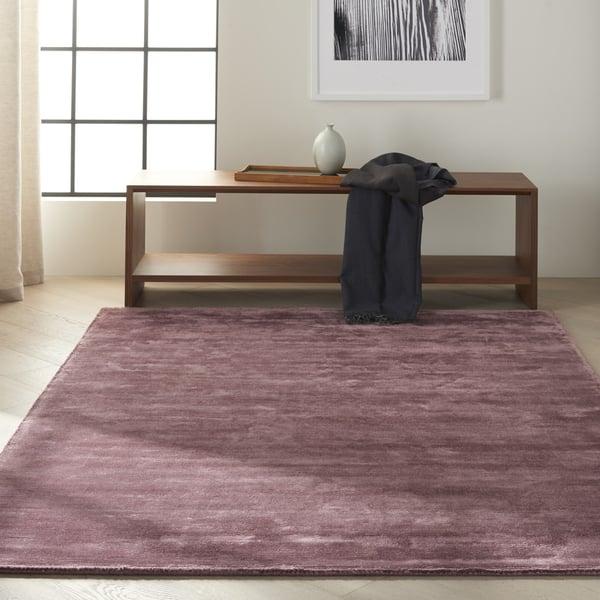 Purple (CK-18) Contemporary / Modern Area Rug