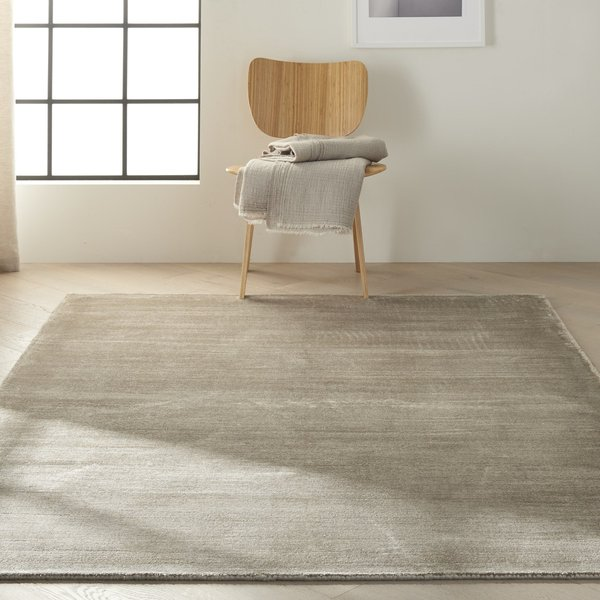 Pewter (CK-18) Contemporary / Modern Area Rug