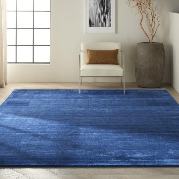 Klein Blue (CK-18) Contemporary / Modern Area Rug