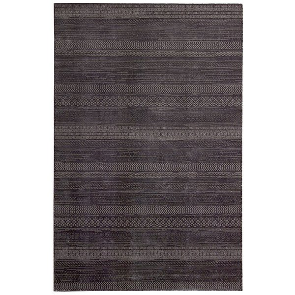 Wineberry (MAY-52) Striped Area Rug