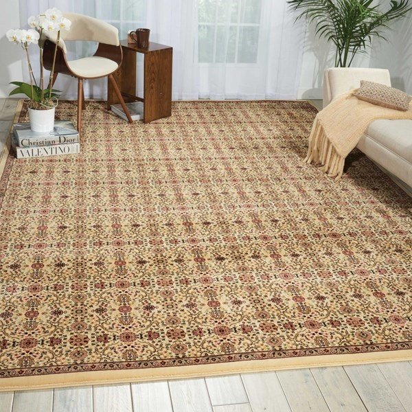 Ivory (ANT-08) Traditional / Oriental Area Rug
