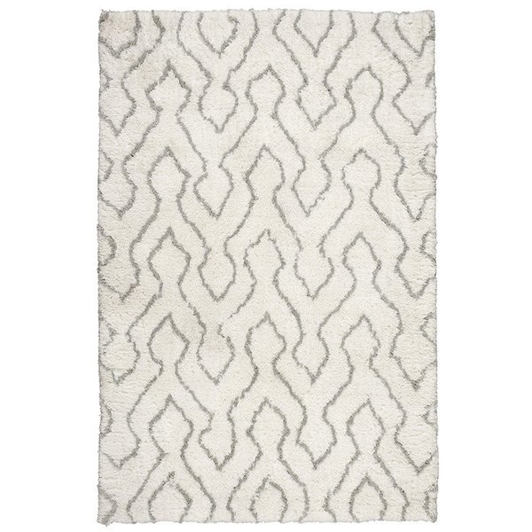Ivory, Sage Contemporary / Modern Area Rug