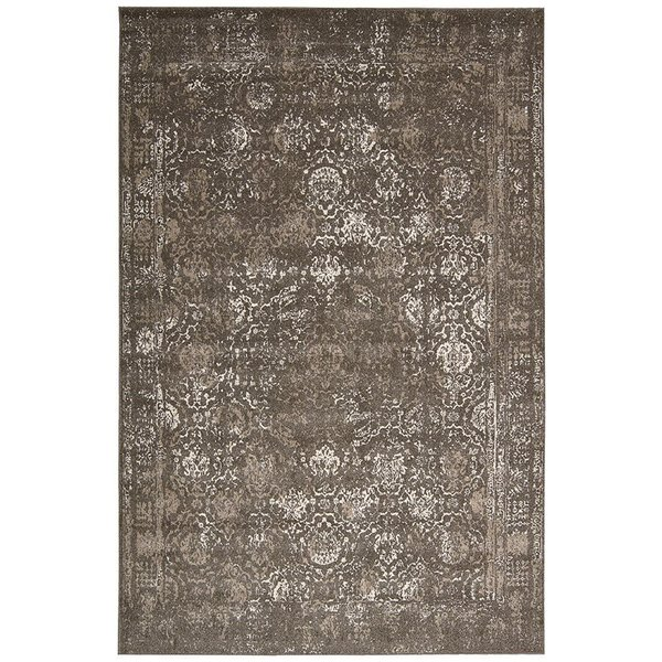 Grey Traditional / Oriental Area-Rugs