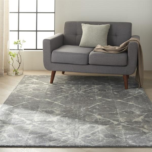 Granite Contemporary / Modern Area Rug