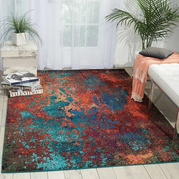 Atlantic Abstract Area-Rugs