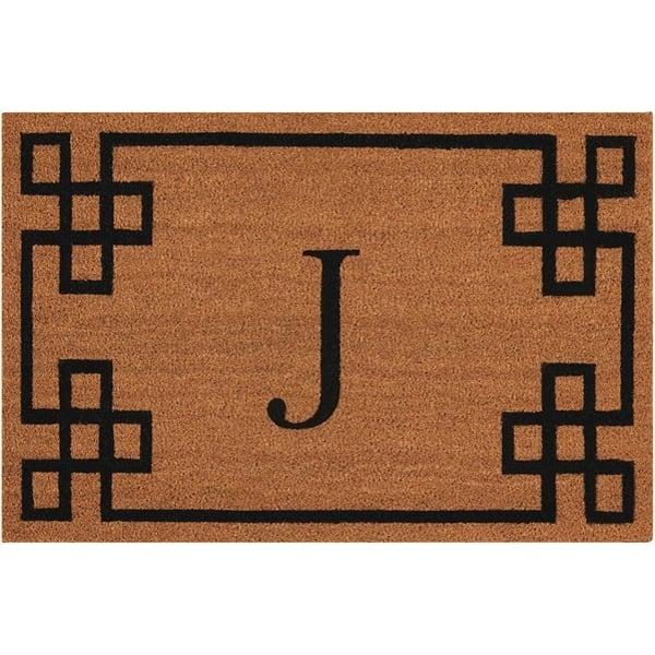 Letter J Novelty / Seasonal Area Rug