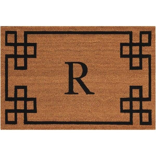 Letter R Novelty / Seasonal Area Rug