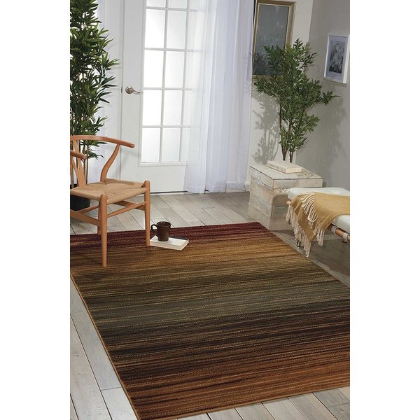 Red, Brown, Green, Blue Abstract Area-Rugs