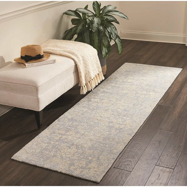 Blue, Gray (WJC-01) Traditional / Oriental Area Rug