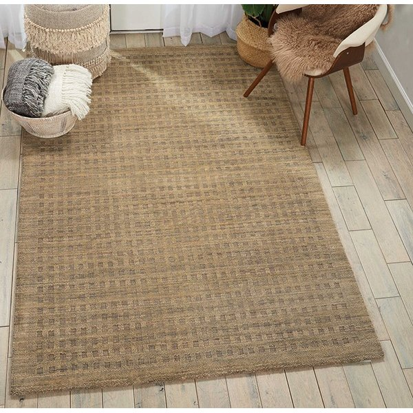 Latte Solid Area Rug
