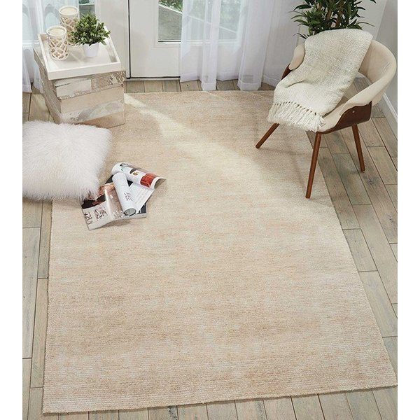 Linen Contemporary / Modern Area-Rugs