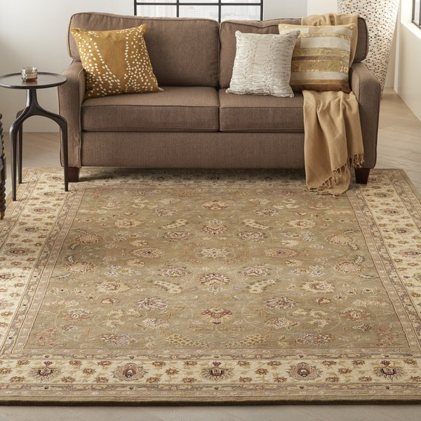 Olive Traditional / Oriental Area-Rugs