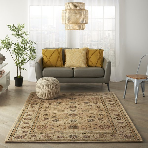 Camel Traditional / Oriental Area-Rugs
