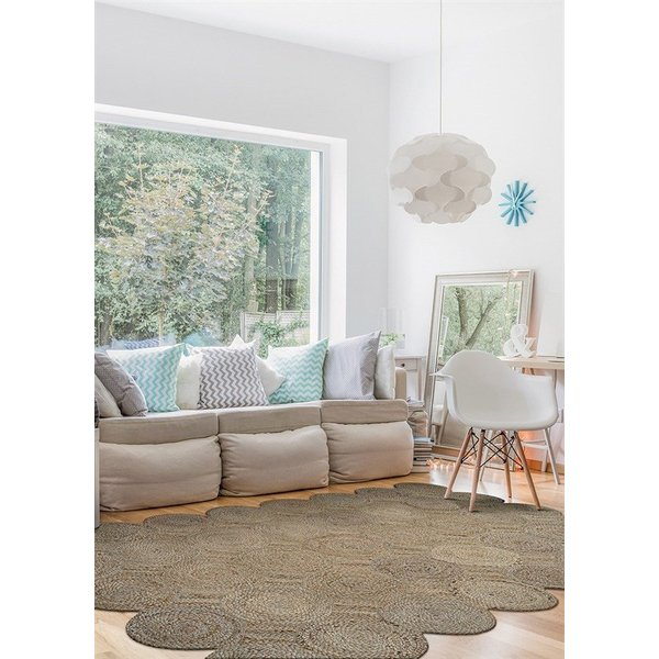 Straw (7293-3028) Country Area-Rugs