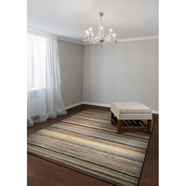 Dust (7964-4488) Striped Area Rug