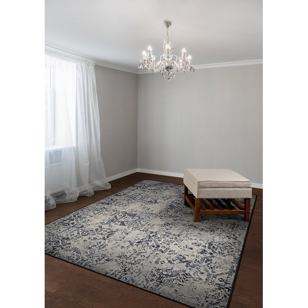 Oyster (6437-7656) Vintage / Overdyed Area Rug