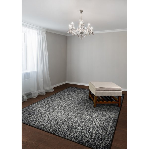 Pewter (6373-9666) Contemporary / Modern Area Rug