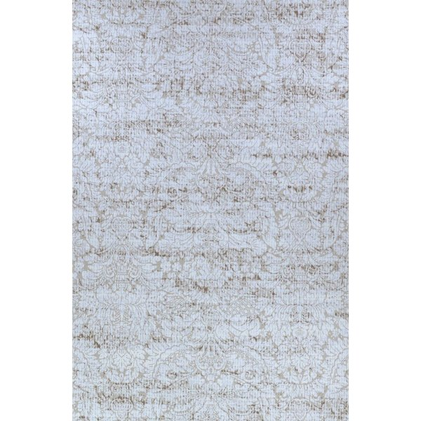 Tan, White Traditional / Oriental Area-Rugs