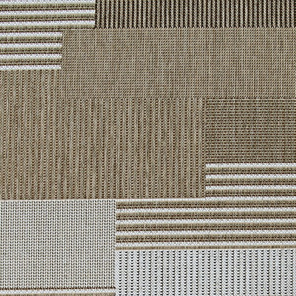 Brown, Sand (2467-2003) Contemporary / Modern Area Rug