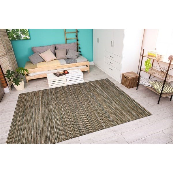Brown, Ivory (1407-0029) Contemporary / Modern Area Rug
