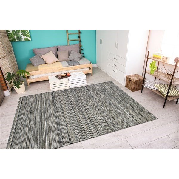 Light Brown, Silver (1407-0009) Contemporary / Modern Area Rug