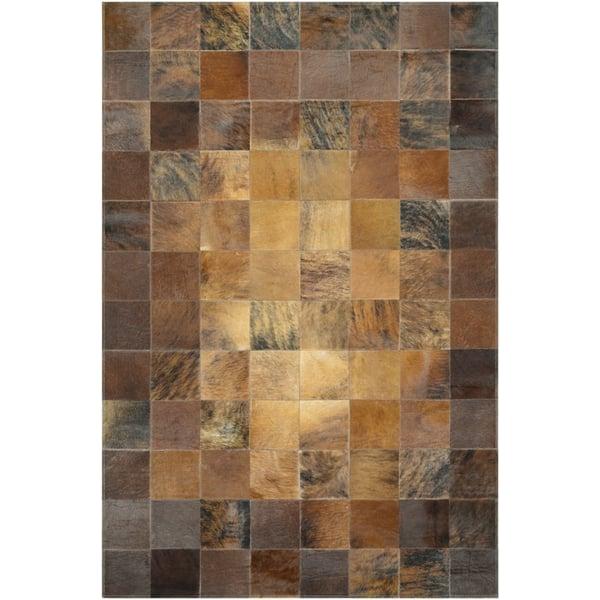 Brown (0348-1579) Animals / Animal Skins Area Rug