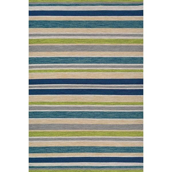 Ocean (5124-3298) Striped Area Rug