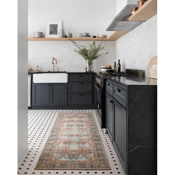 Brick Vintage / Overdyed Area-Rugs