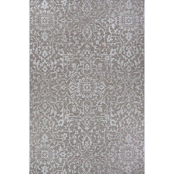 Mushroom, Ivory (2329-3125) Contemporary / Modern Area-Rugs