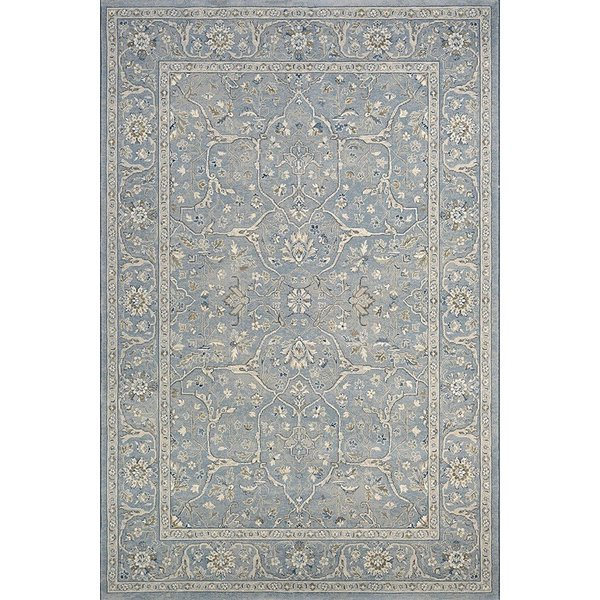 Slate Blue (7145-4646) Traditional / Oriental Area Rug