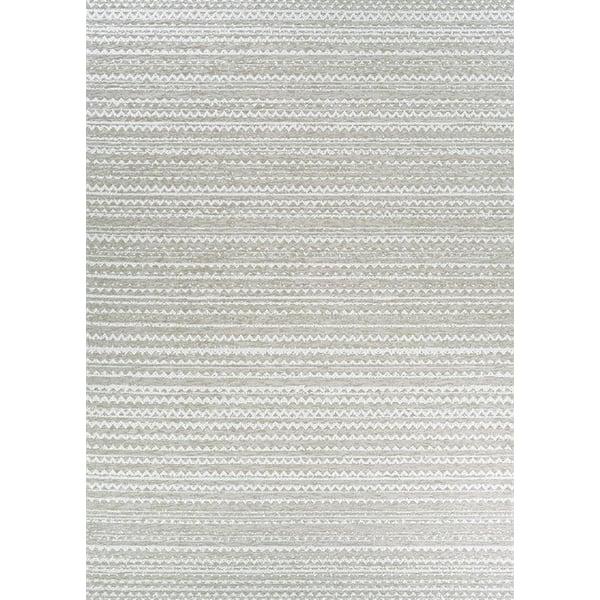 Wheat Contemporary / Modern Area Rug