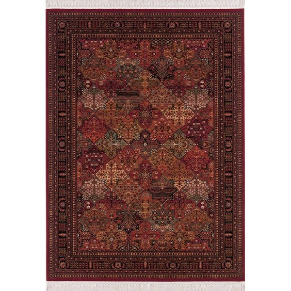 Red (8143-3203) Bohemian Area Rug