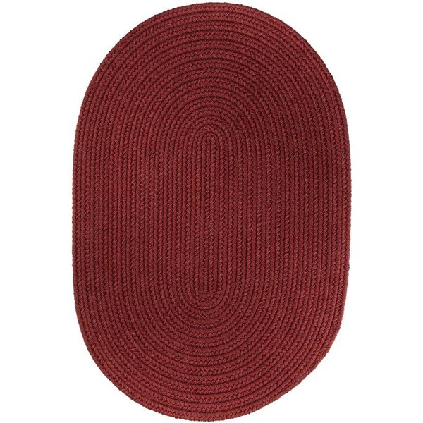 Colonial Red (T-005) Country Area-Rugs