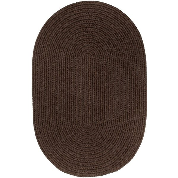 Brown (T-011) Country Area-Rugs