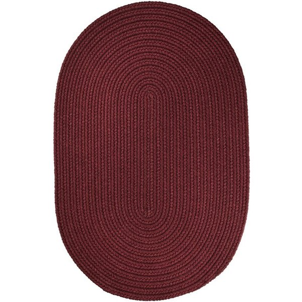 Burgundy (T-022) Country Area Rug