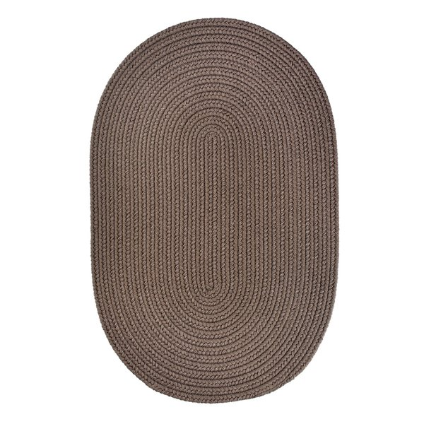 Dark Taupe (T-026) Country Area-Rugs
