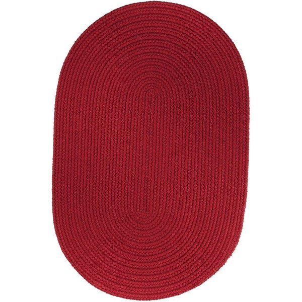 Brilliant Red (T-045) Country Area-Rugs