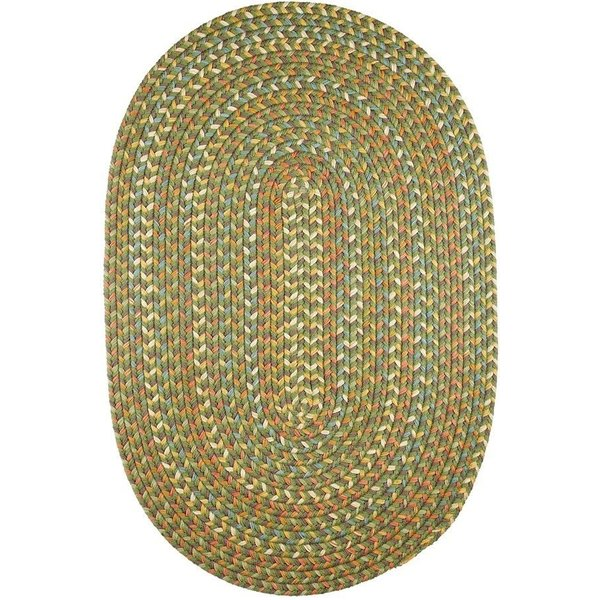Olive (CU-67) Country Area Rug